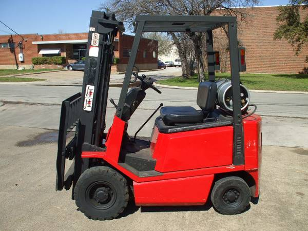 Yale Forklift – 3000 lbs  Capacity - Used Forklifts Dallas